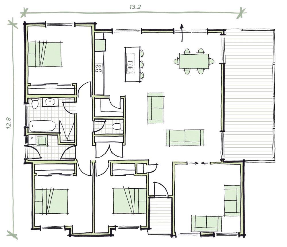 The Arkley Modular Home Plans