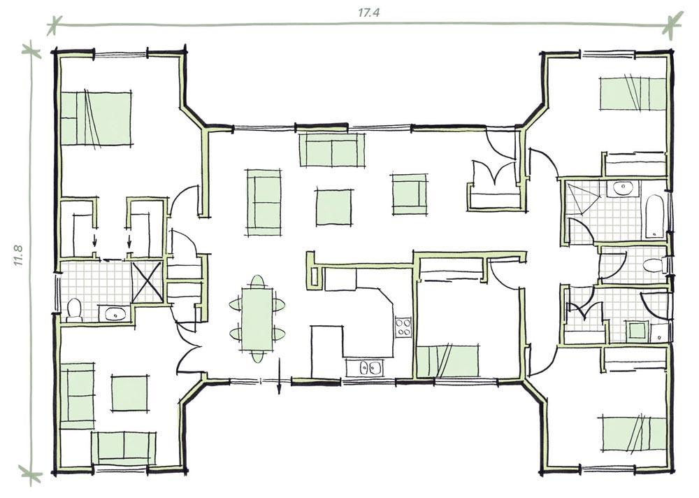 The Cossington Modular Home Plans