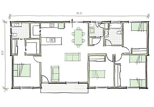 the crowley plan modular home