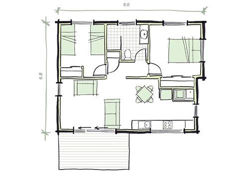 The Durak Plans - Modular Granny Flat