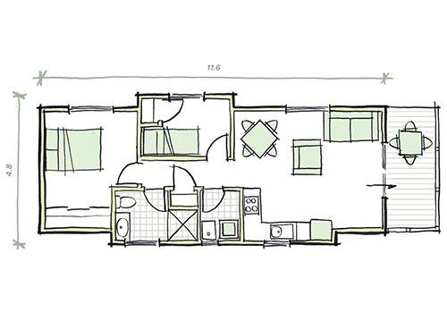 The Gill Plans - Modular Granny Flat