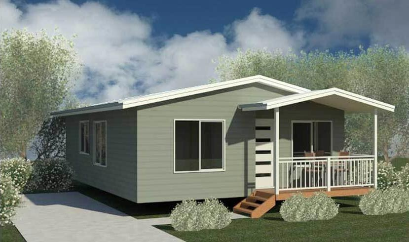 2 Bedroom Modular Home - The Glover