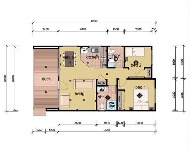 The Gould Plans - Prefab Granny Flat