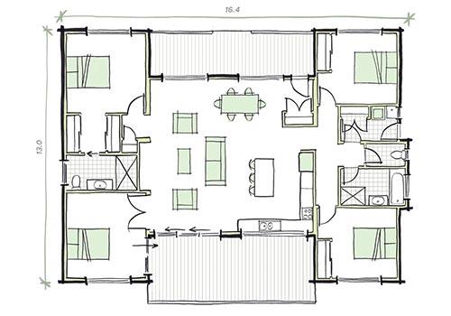 The Hart Modular Home Plans