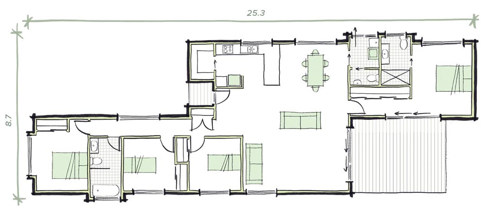 The Hester Modular Home Plans
