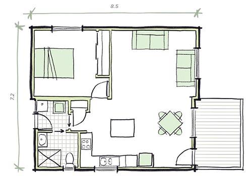 The Heysen Plans - Modular Granny Flat