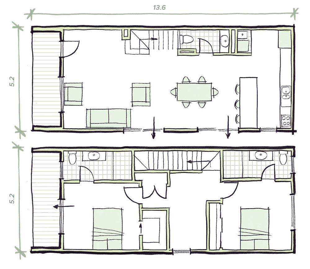The Lanceley Modular Home Plans