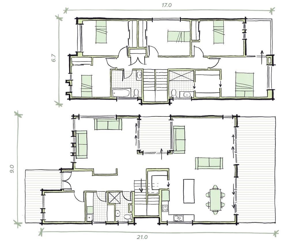 The Lawrence Modular Home Plans