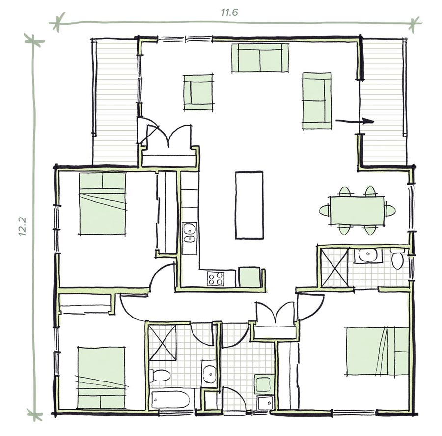 The Lewin Modular Home Plans