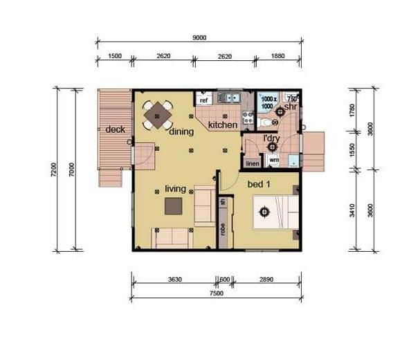 The Lycett Plans - Prefab Granny Flat