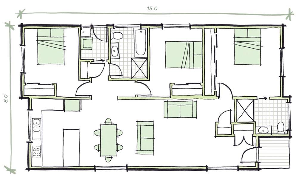 The Martens Modular Home Plans