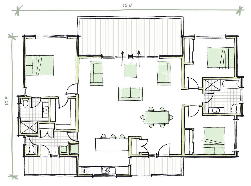 The Milson Modular Home Plans
