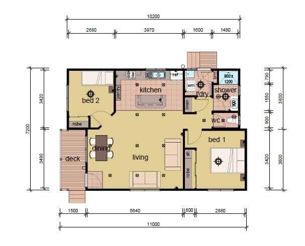 The Balson Modular Home Plans