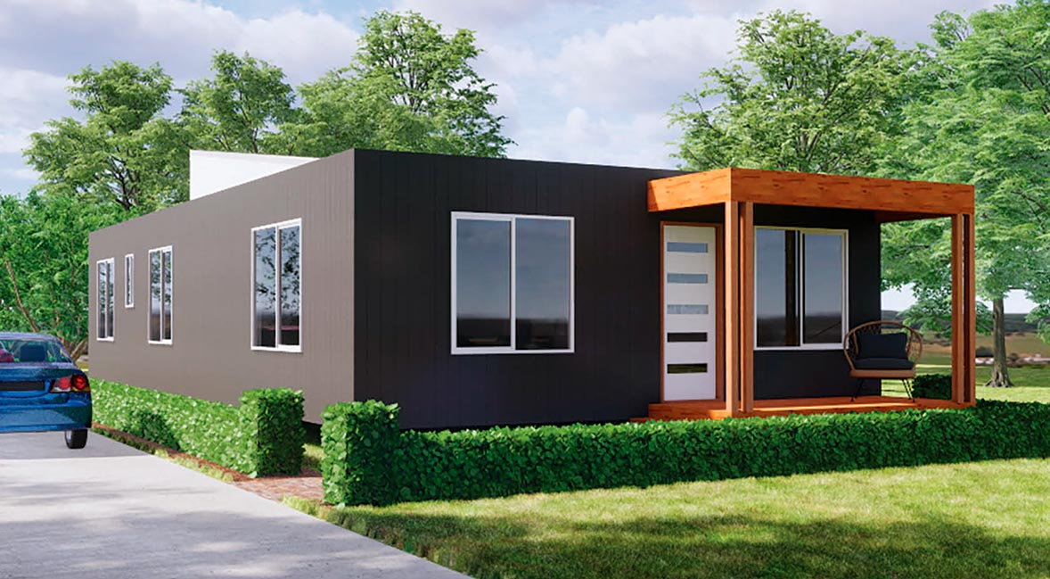 The Patterson 3 bedroom prefab home