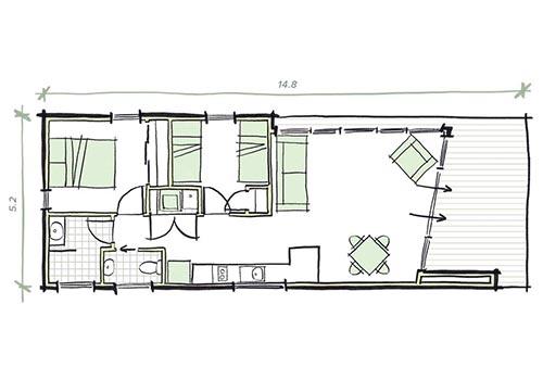The Proctor Plans - Modular Granny Flat