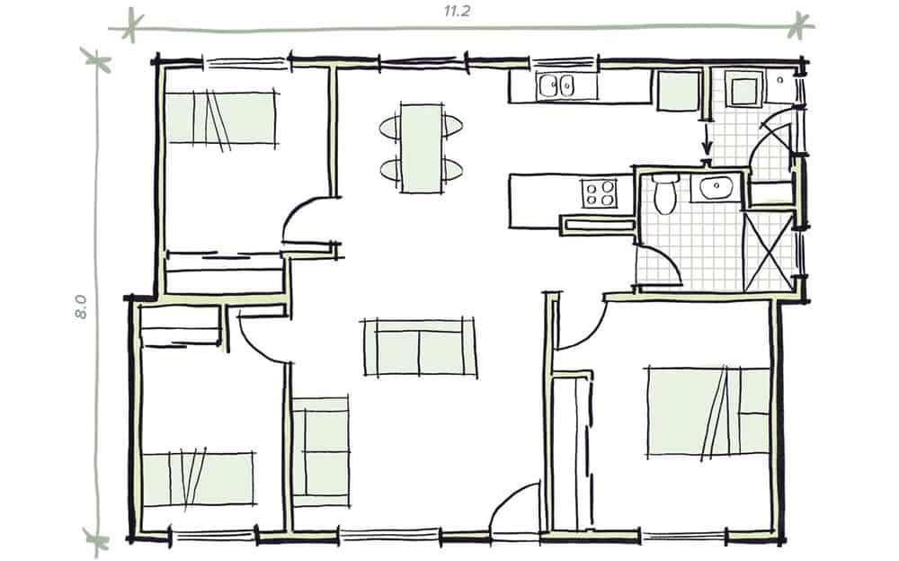 The Ramsey Modular Home Plans