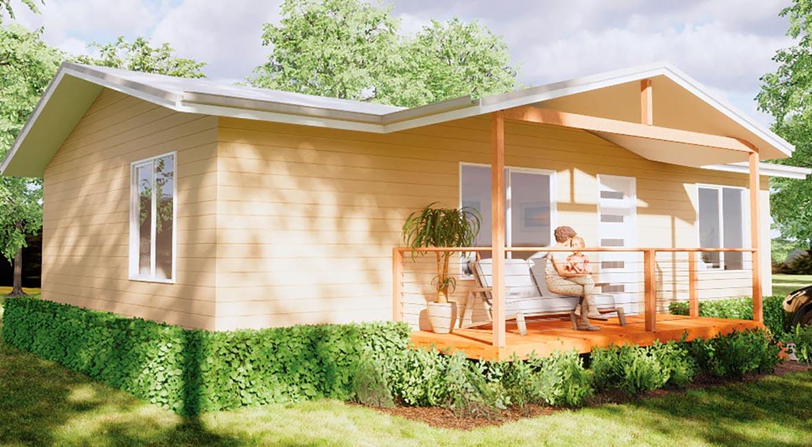 The Ramsey 3 Bedroom prefab home