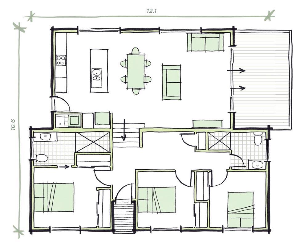 The Shore Modular Home Plans