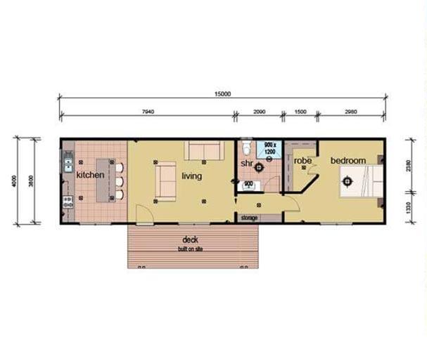 The Smart Apartment Plans - Modular Granny Flat