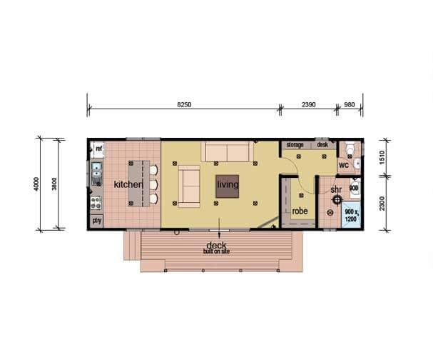 The Smart Studio Plans - Modular Granny Flat