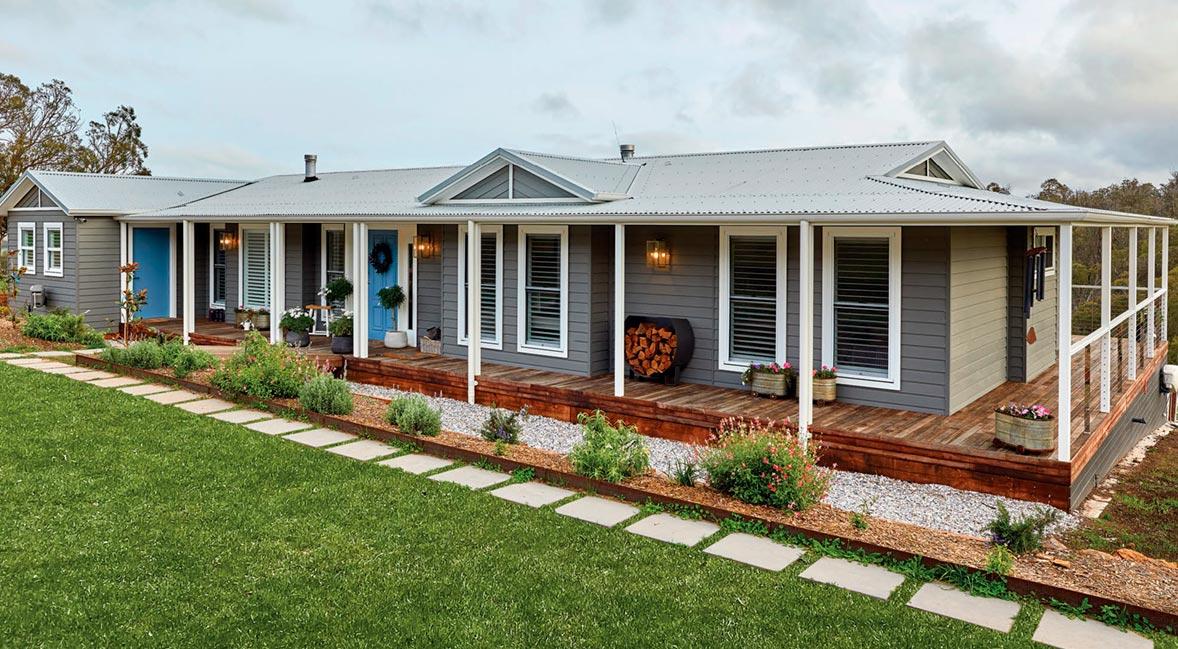 The tucker modular home