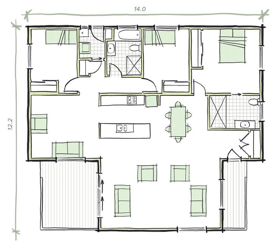 The Whiteley Modular Home Plans