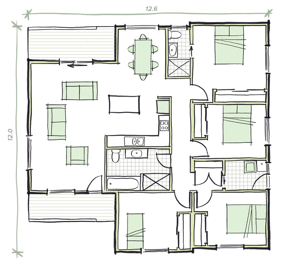 The Withers Modular Home Plans